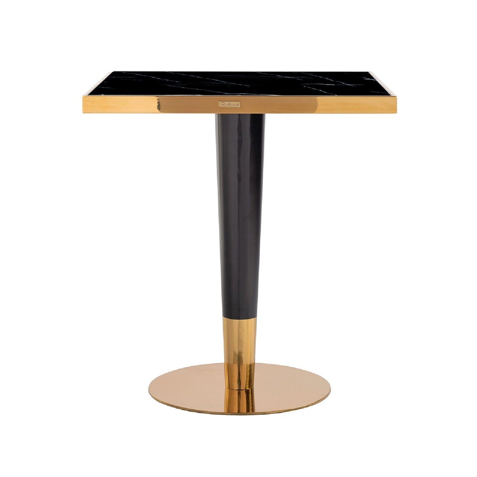 Table a diner Can Roca square black 70x70 Meuble Déco Tendance - 481