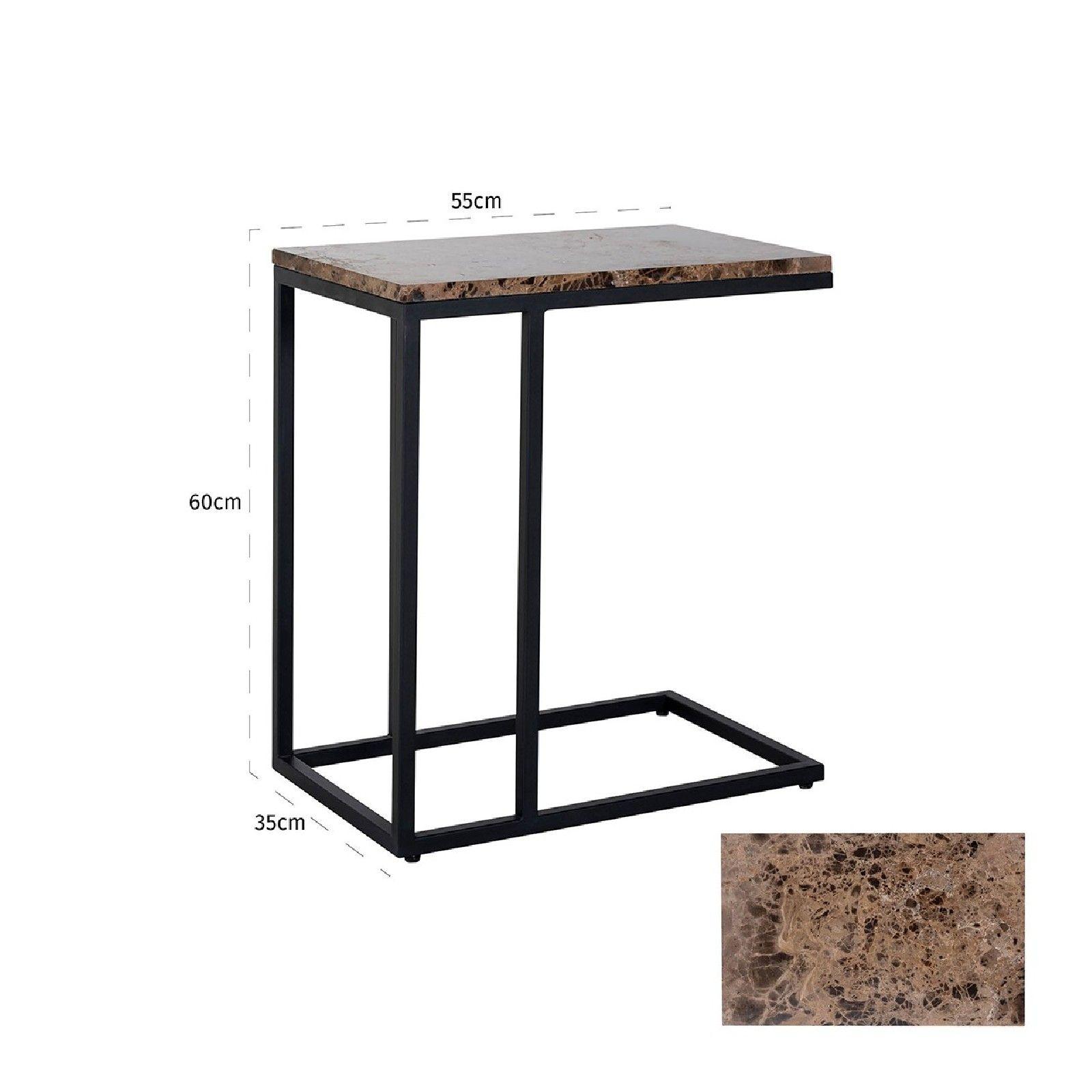 Table de bar Osteria ronde 80Ø Meuble Déco Tendance - 733