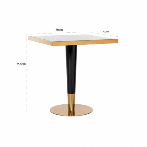 Table a diner Osteria square 70x70 Meuble Déco Tendance - 585