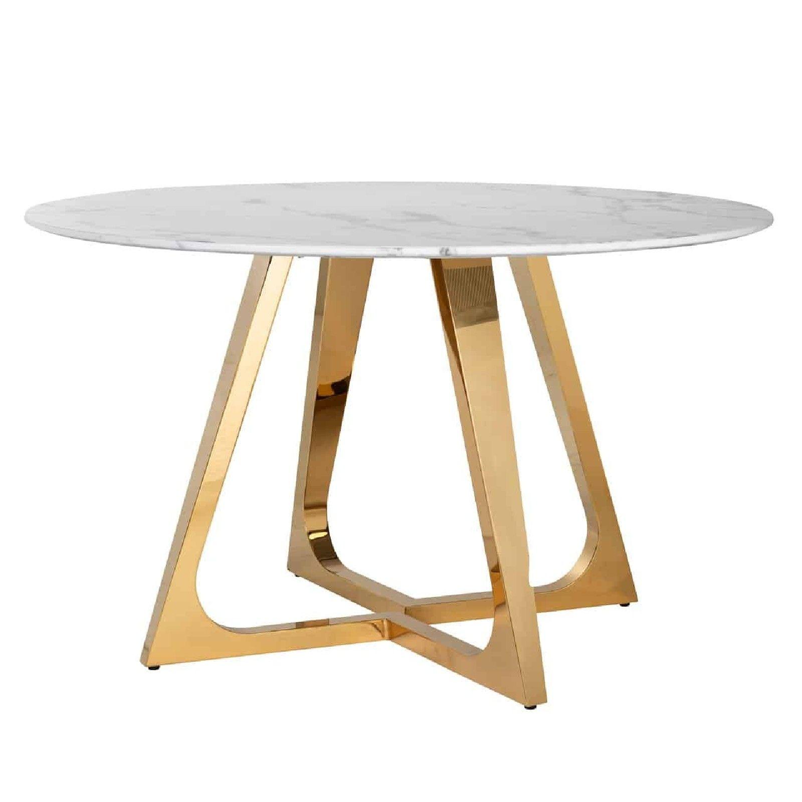 Table a diner ronde Dynasty 130Ø Meuble Déco Tendance - 92