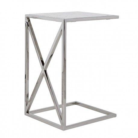 Table d'appoint Mona avec du marbre