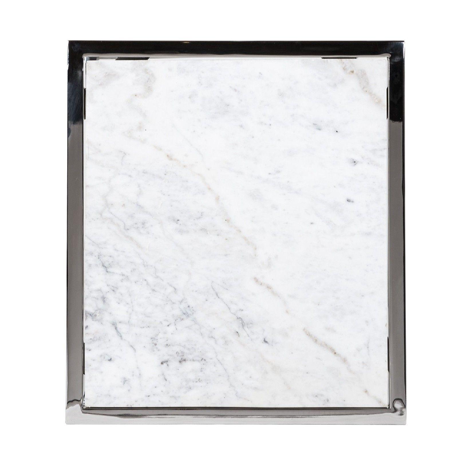 Table d'appoint Mona avec du marbre Meuble Déco Tendance - 512