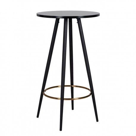 Table de bar Lando ronde 60Ø