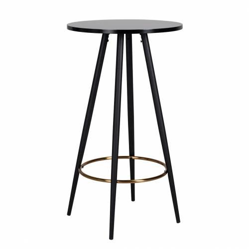 Table de bar Lando ronde 60Ø Meuble Déco Tendance - 198