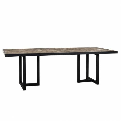 Table à dîner Herringbone 200 Meuble Déco Tendance - 31
