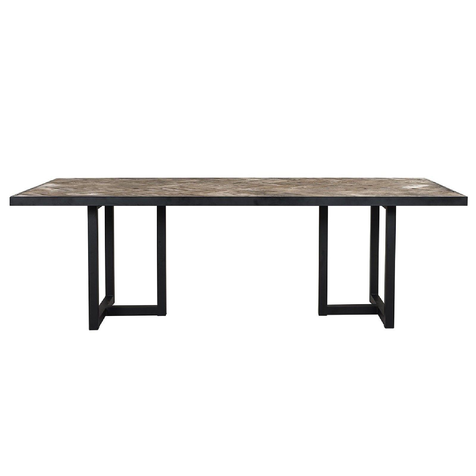Table à dîner Herringbone 200 Meuble Déco Tendance - 656