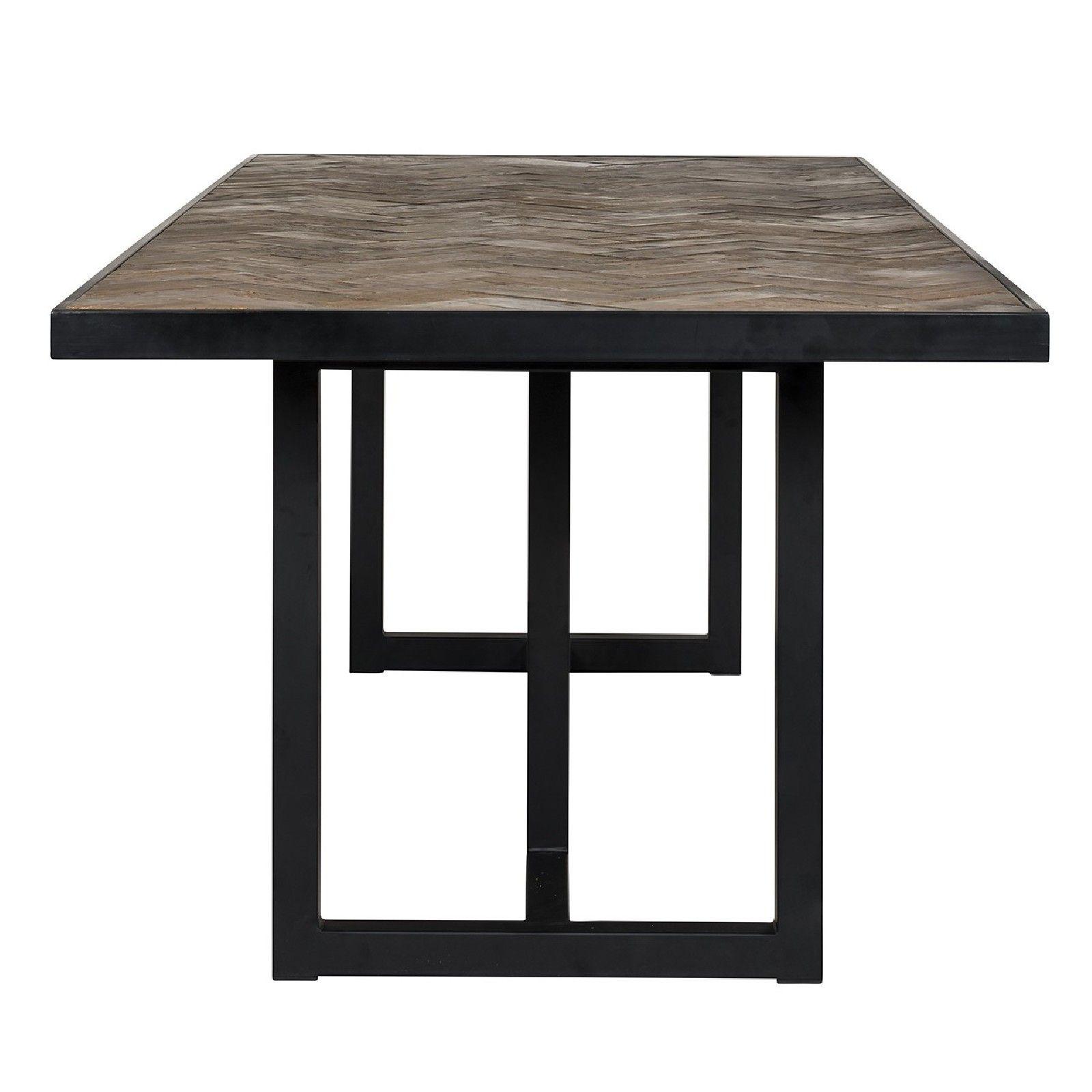 Table à dîner Herringbone 240 Meuble Déco Tendance - 229