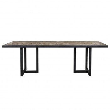 Table à dîner Herringbone 240 Meuble Déco Tendance - 633