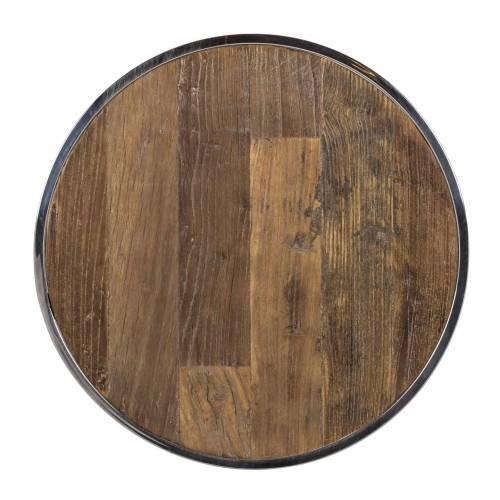 Table d'angle Redmond / Maddox set de 2 rond Meuble Déco Tendance - 408