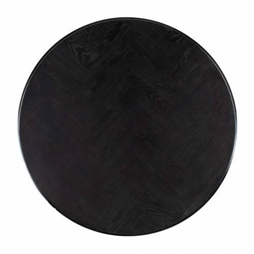 Table de salon Blackbone silver set de 2 rond Tables basses rectangulaires - 326