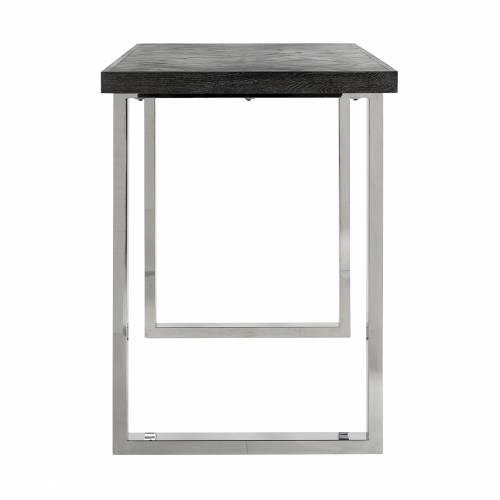 Table de bar Blackbone silver 160 Meuble Déco Tendance - 213