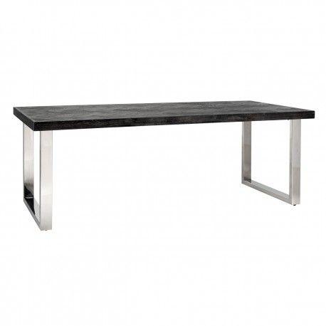 Table à dîner Blackbone silver 180