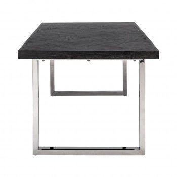 Table à dîner Blackbone silver 180 Meuble Déco Tendance - 256