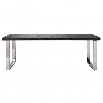 Table à dîner Blackbone silver 180 Meuble Déco Tendance - 470