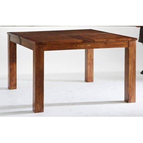 TATOO TABLE REPAS CARRÉE 130 CM