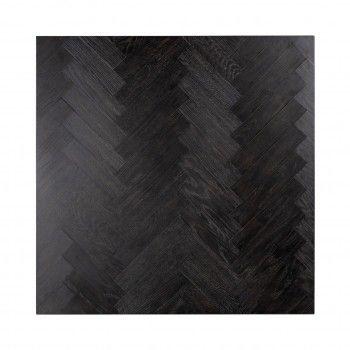 Table de salon Blackbone silver 90x90 (Block) Tables basses rectangulaires - 386