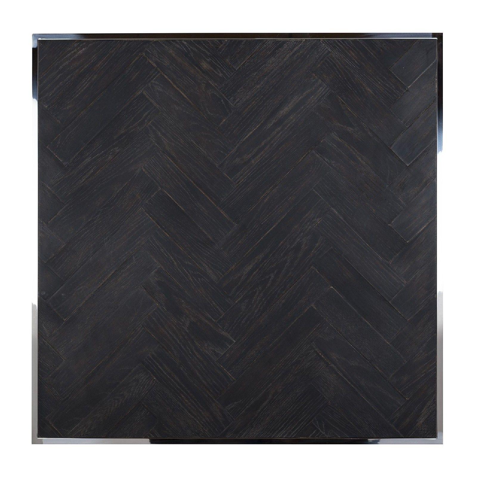 Table de salon Blackbone silver 90x90 Tables basses rectangulaires - 534