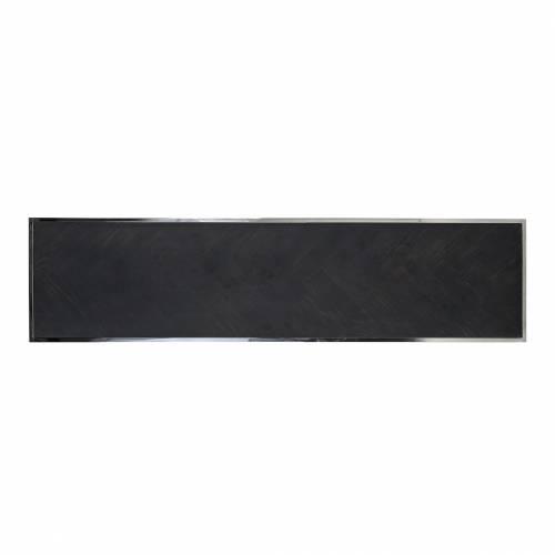 Table de salon Blackbone silver 160x40 Tables basses rectangulaires - 462