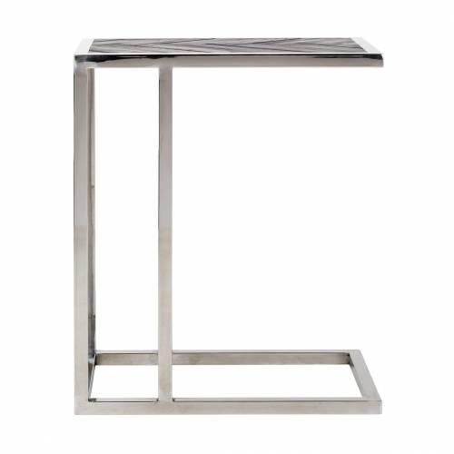 Table d'appoint Blackbone silver Meuble Déco Tendance - 374