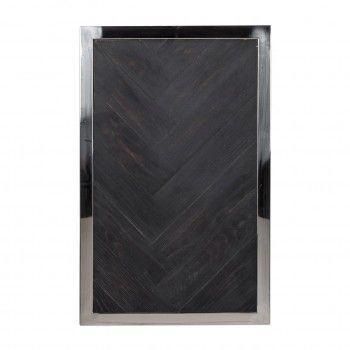 Table d'appoint Blackbone silver Meuble Déco Tendance - 574
