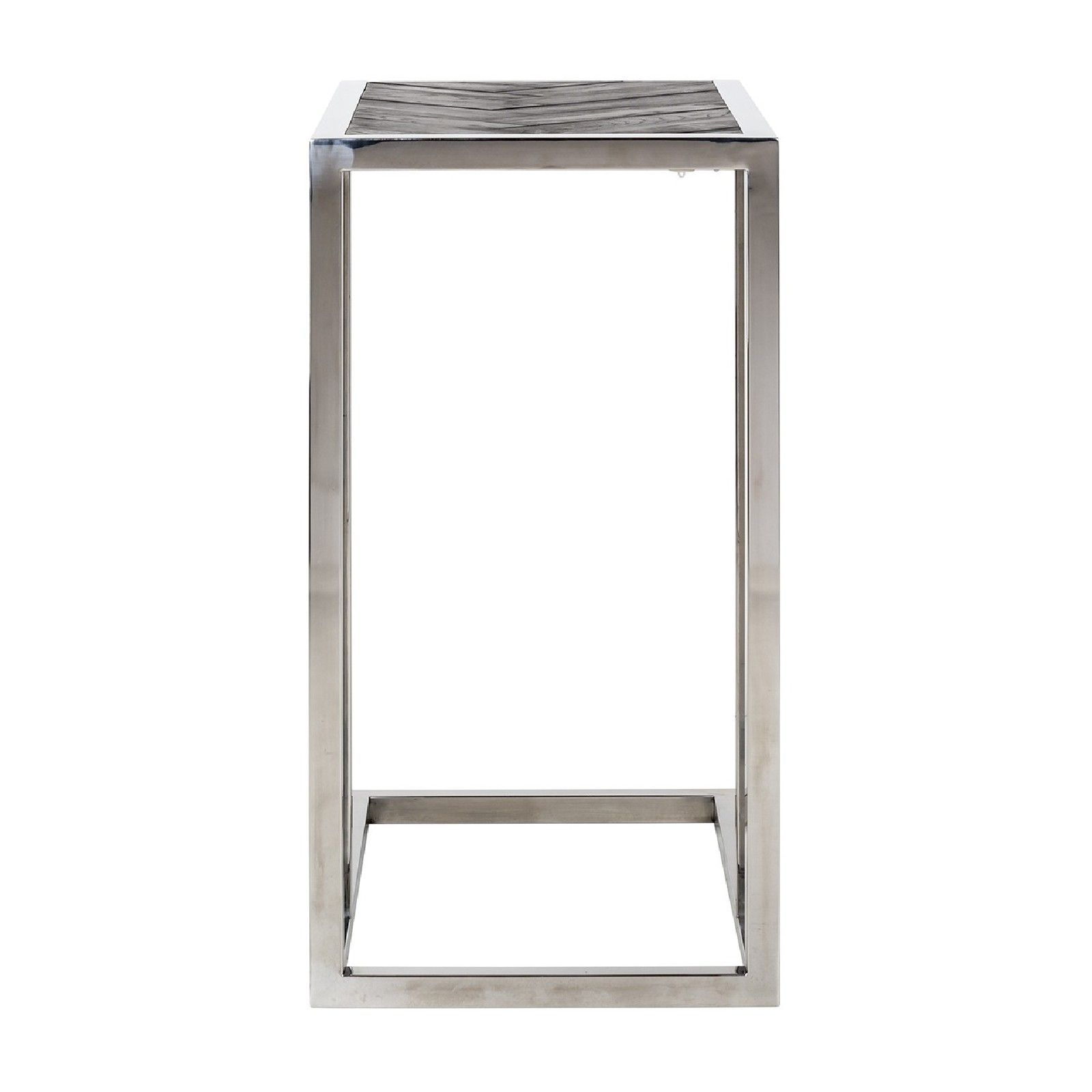 Table d'appoint Blackbone silver Meuble Déco Tendance - 598