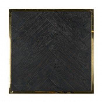 Table d'angle Blackbone gold 50x50 Meuble Déco Tendance - 290