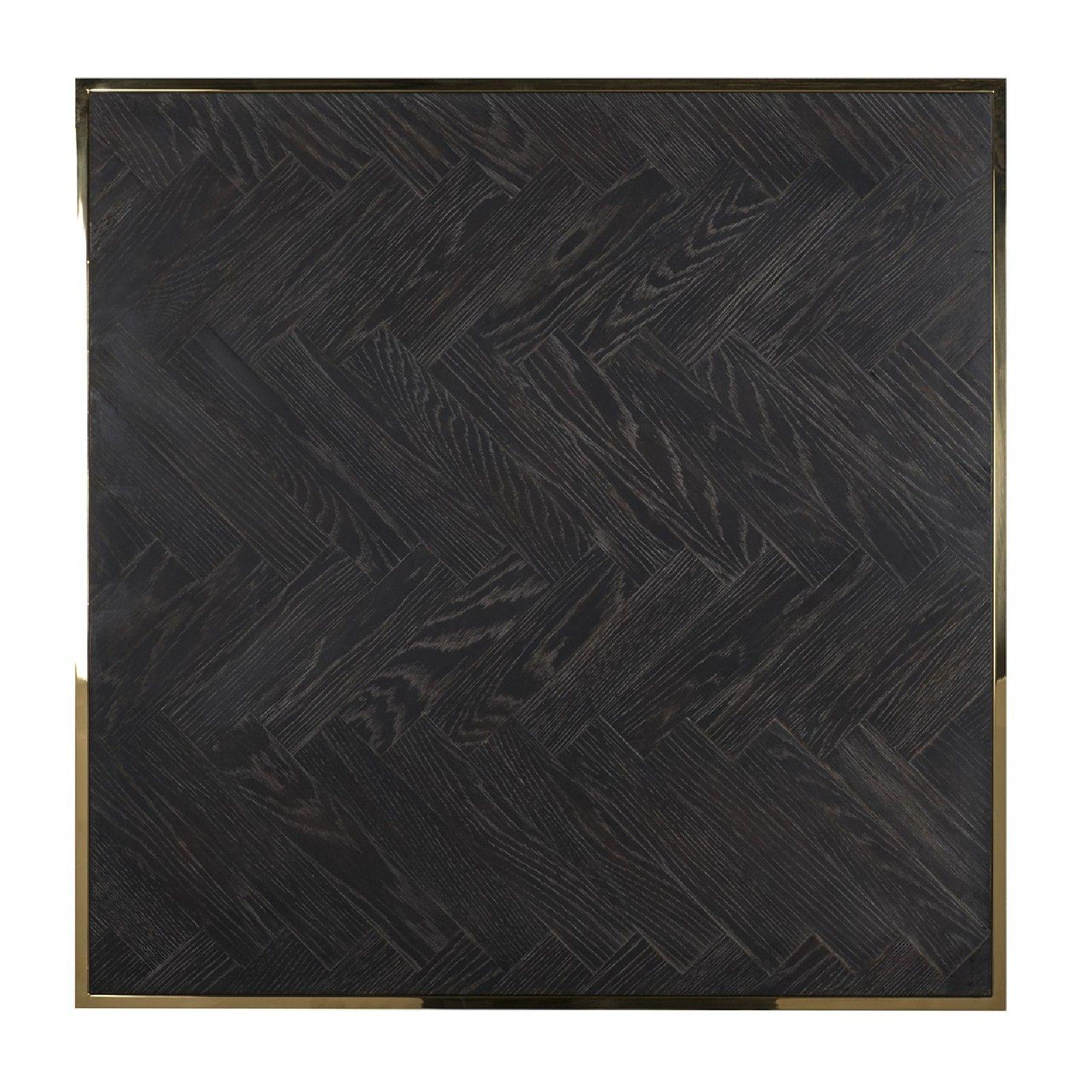 Table de salon Blackbone gold 90x90 Tables basses rectangulaires - 225