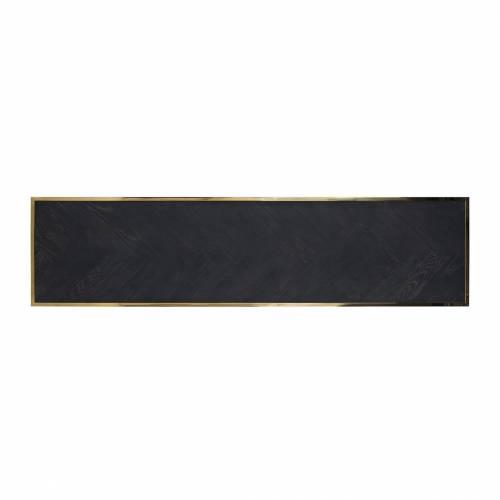 Table de salon Blackbone gold 160x40 Tables basses rectangulaires - 545