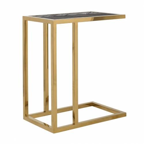 Table d'appoint Blackbone gold Meuble Déco Tendance - 14
