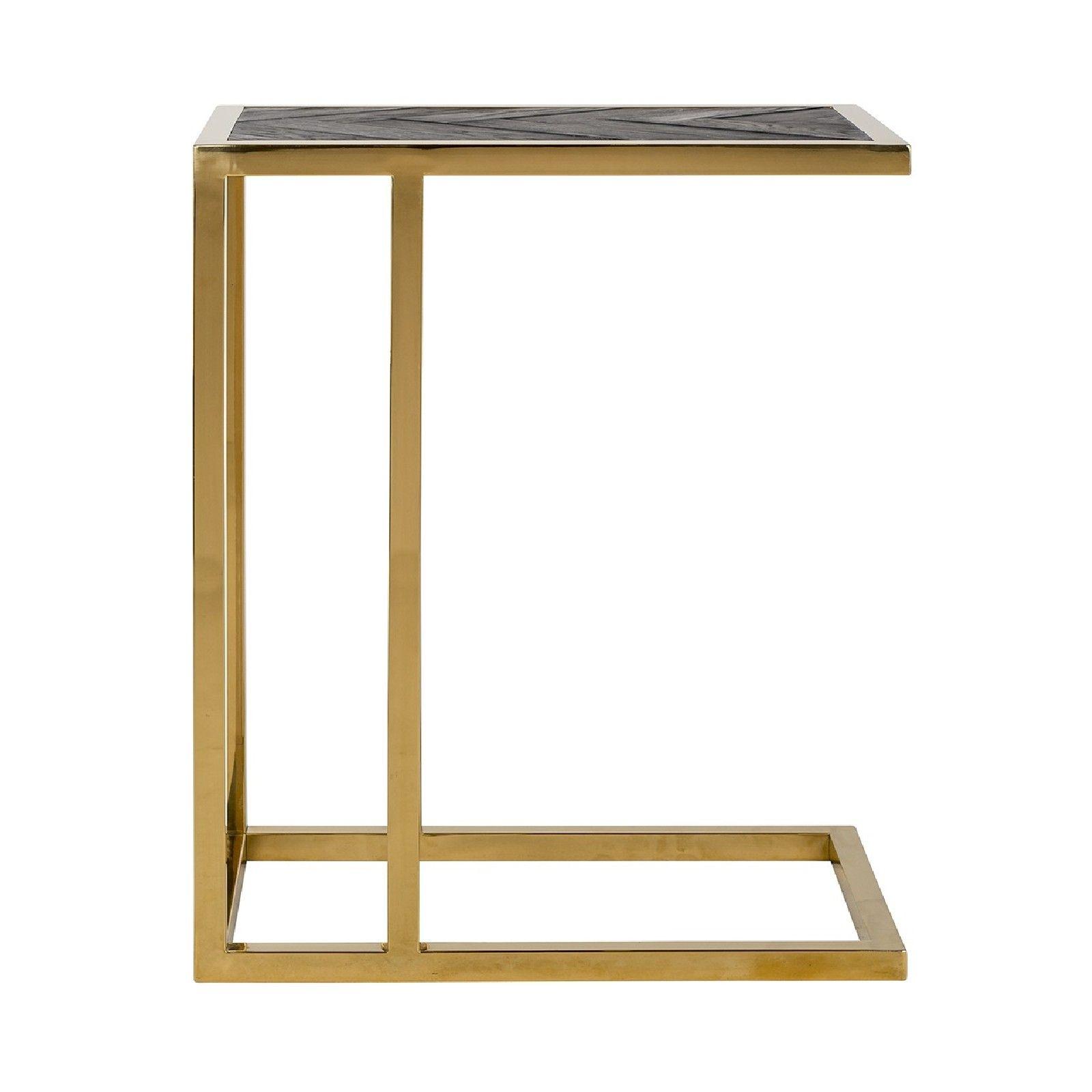Table d'appoint Blackbone gold Meuble Déco Tendance - 253