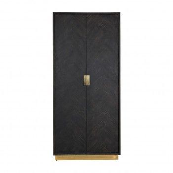 Présentoir Blackbone gold avec 2-portes (haut) Meuble Déco Tendance - 569