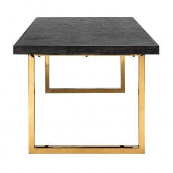 Table à dîner Blackbone gold 220 Meuble Déco Tendance - 285