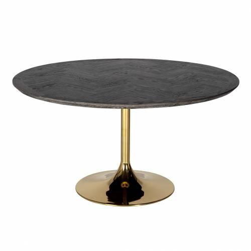 Table à dîner Blackbone gold Ø140 Meuble Déco Tendance - 81