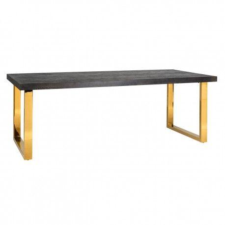 Table à dîner Blackbone gold 180