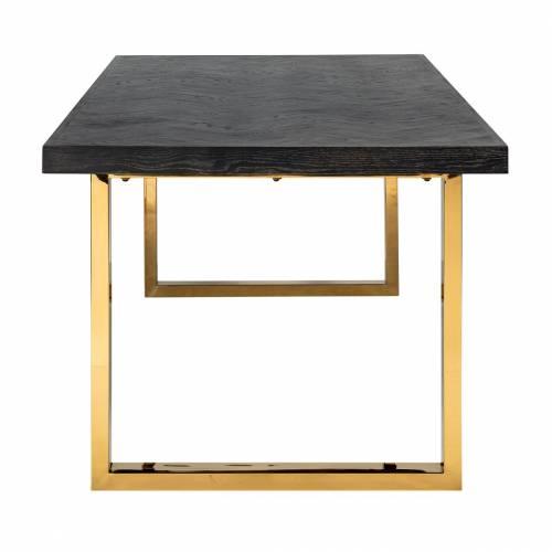 Table à dîner Blackbone gold 180 Meuble Déco Tendance - 215