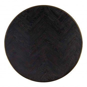 Table de salon Blackbone gold set de 2 rond Tables basses rectangulaires - 303