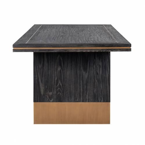 Table à dîner Hunter 220x100 Meuble Déco Tendance - 389