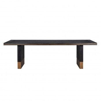 Table à dîner Hunter 220x100 Meuble Déco Tendance - 411
