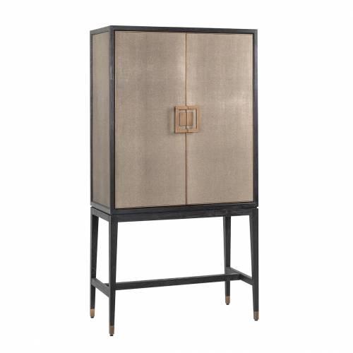 Armoire de bar Bloomingville avec 2-portes shagreen Meuble Déco Tendance - 111