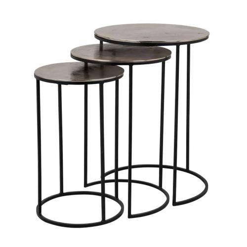 Table Nolan set of 3 Meuble Déco Tendance - 141