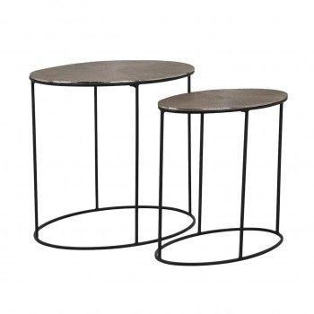 Table Jude set de 2 ovale