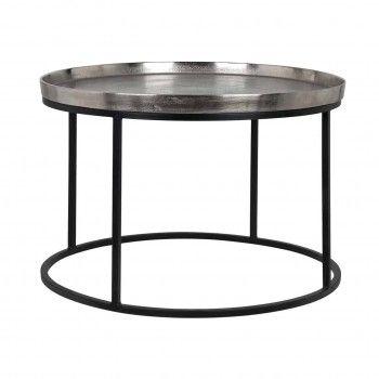 Table Lyam aluminium silver...