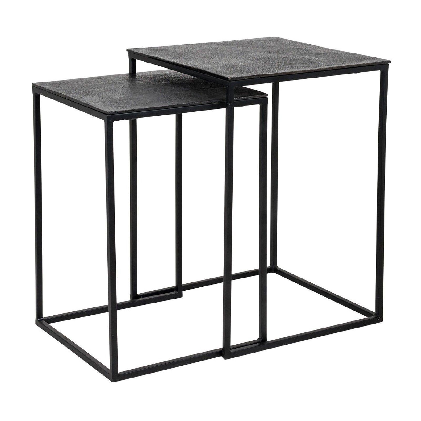 Table Jaysen square set of 2 Meuble Déco Tendance - 156