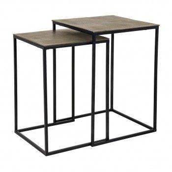 Table Finn square set of 2...