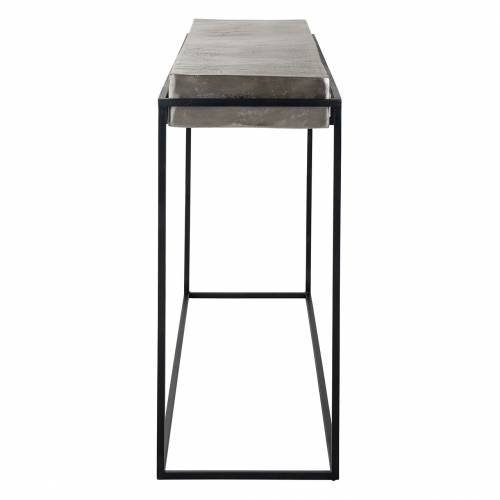 Console Calloway champagne or Meuble Déco Tendance - 208