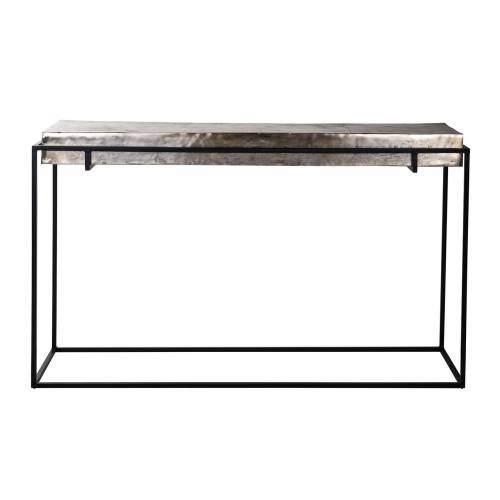 Console Calloway champagne or Meuble Déco Tendance - 617