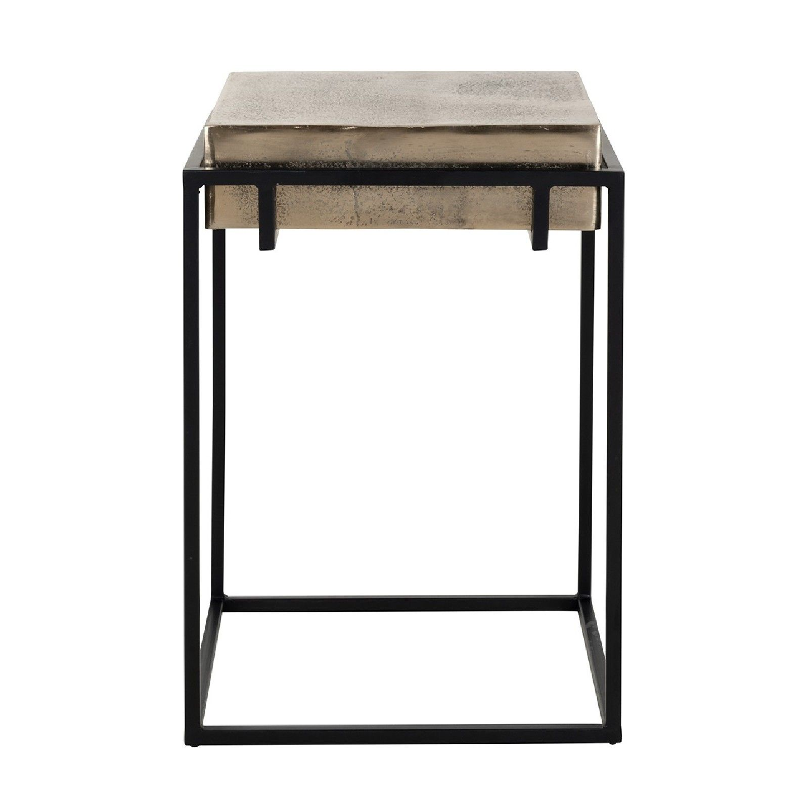 Table d'appoint Calloway champagne or Meuble Déco Tendance - 571