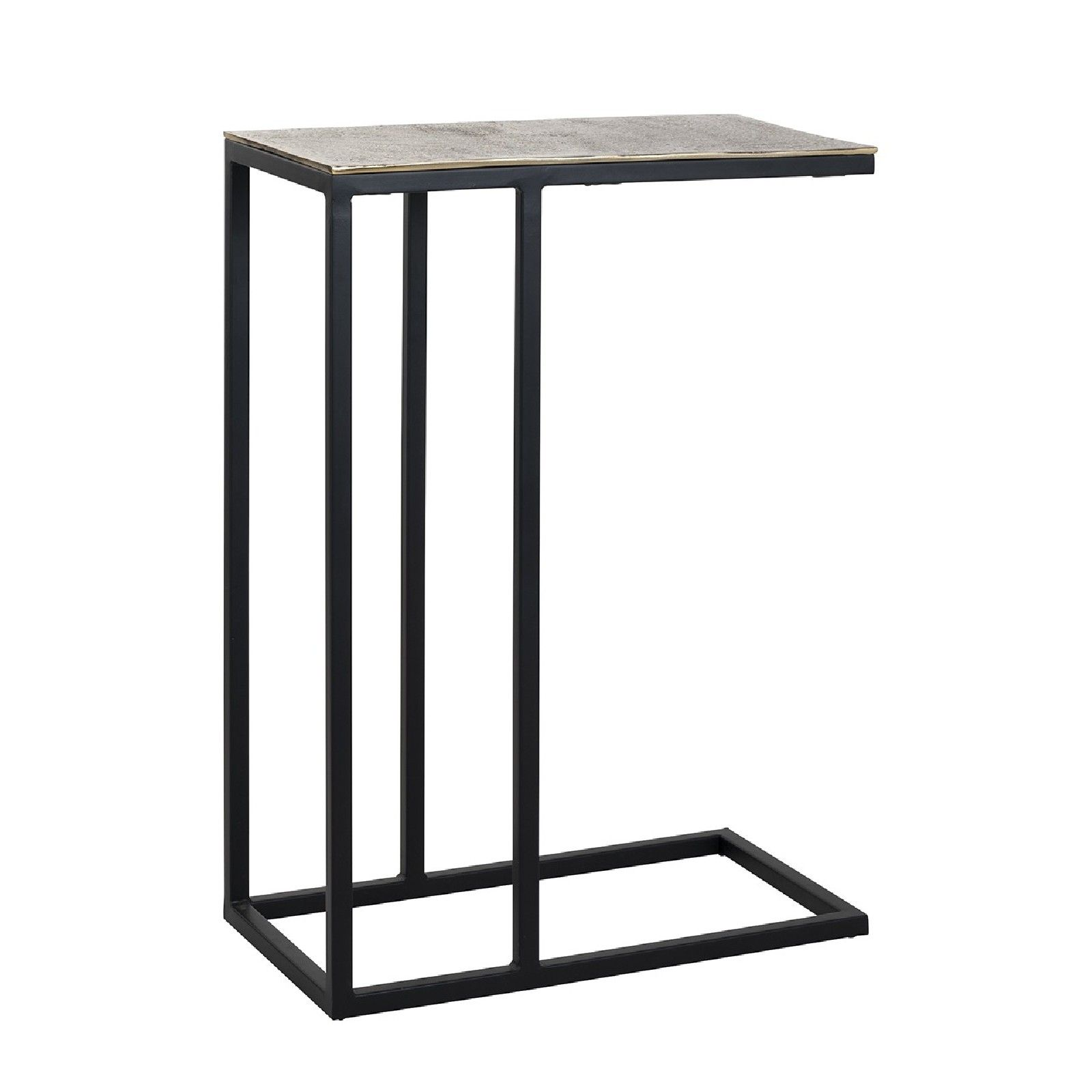 Table d'appoint Calloway champagne or Meuble Déco Tendance - 10
