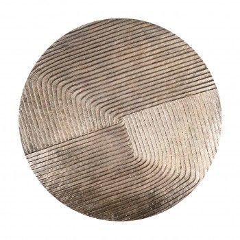 Table d'angle Lohan set de 2 en or Meuble Déco Tendance - 239