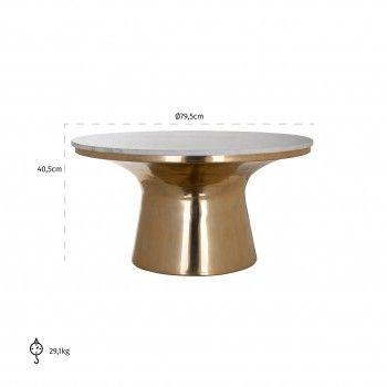 Table de salon Jackson 81Ø Tables basses rectangulaires - 398